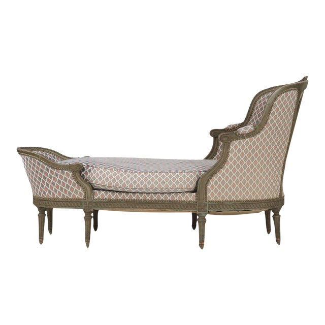 French Louis XVI Style Chaise Lounge, Circa 1900 - Image 1 of 11