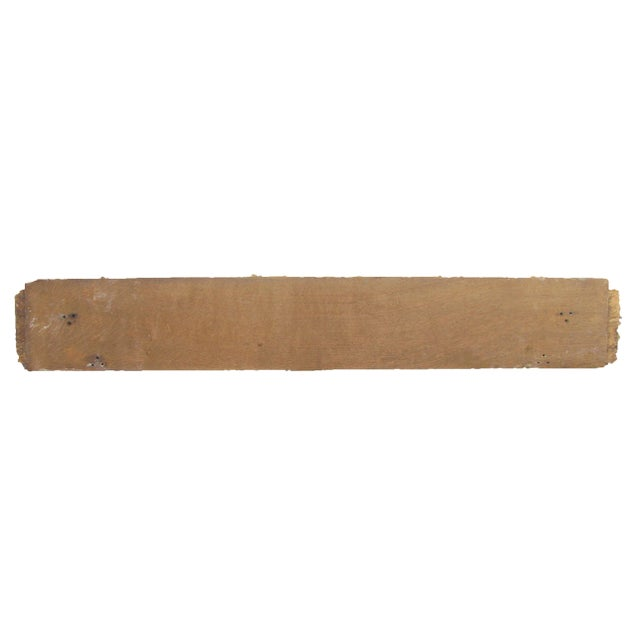 Handsome architectural salvage element to add a warm decorative touch to your home or patio. Probably lived its life as a...