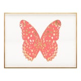 Image of Butterfly Royale, Pink 1 Framed Artwork For Sale