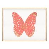 Image of Butterfly Royale, Pink 1 Framed Artwork For Sale
