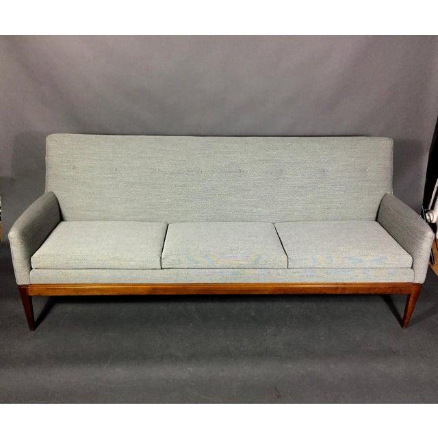 Mid-Century Modern Jen Risom 1950s American Modern 3-Seat Sofa For Sale - Image 3 of 10