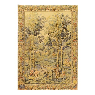 "Pasargad France Aubusson Tapestry- 4'3'x6'2"" For Sale"