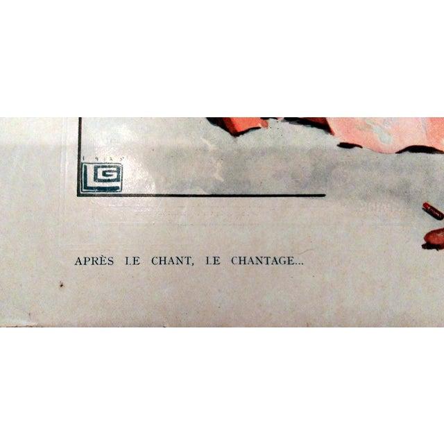 "1926 La Vie Parisienne ""Posing Pretty"" Prints - Pair - Image 4 of 10"