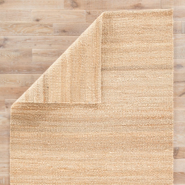 Jaipur Living Hutton Natural Solid Beige Area Rug - 5' X 8' For Sale - Image 4 of 6