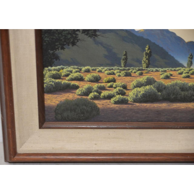 Michael Sarraille Rocky Mountain Landscape Oil Painting For Sale In San Francisco - Image 6 of 9