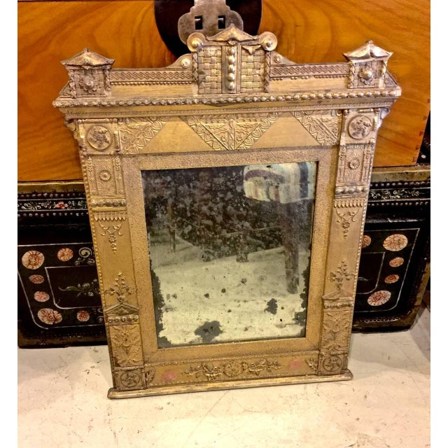 This is a pair of rare French Directoire mirrors in original condition. There have been very few minor restorations and...