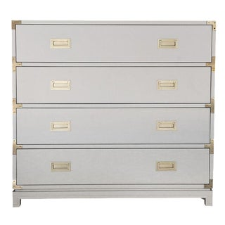 Large Carlyle Campaign Dresser in Grey