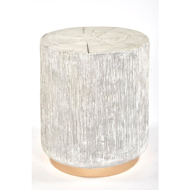 2010s Oro Log Indoor Outdoor Stool For Sale - Image 5 of 5