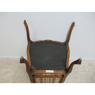 Ethan Allen French Country Carved Lounge Arm Chair Preview