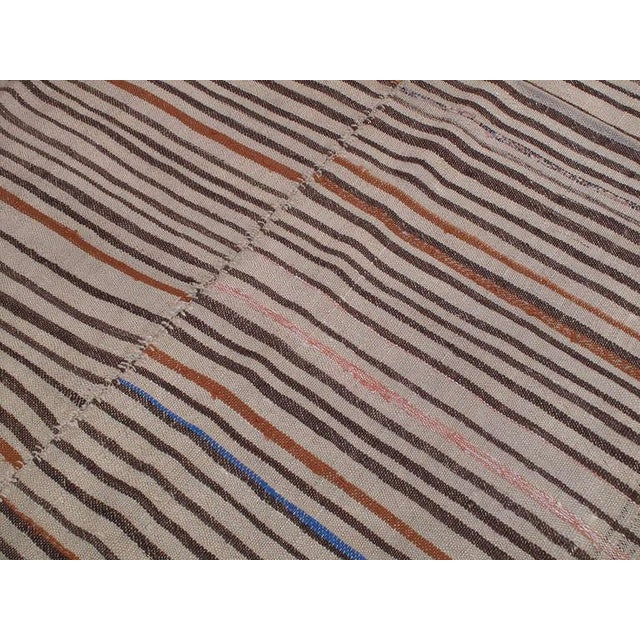 Striped Kilim For Sale - Image 4 of 6