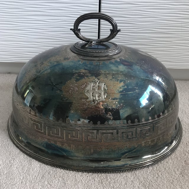 Antique Sterling Silver Serving Dome - Image 2 of 8