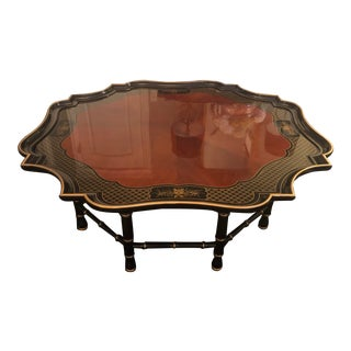 Chinoiserie Kindel Coffee Cocktail Table For Sale