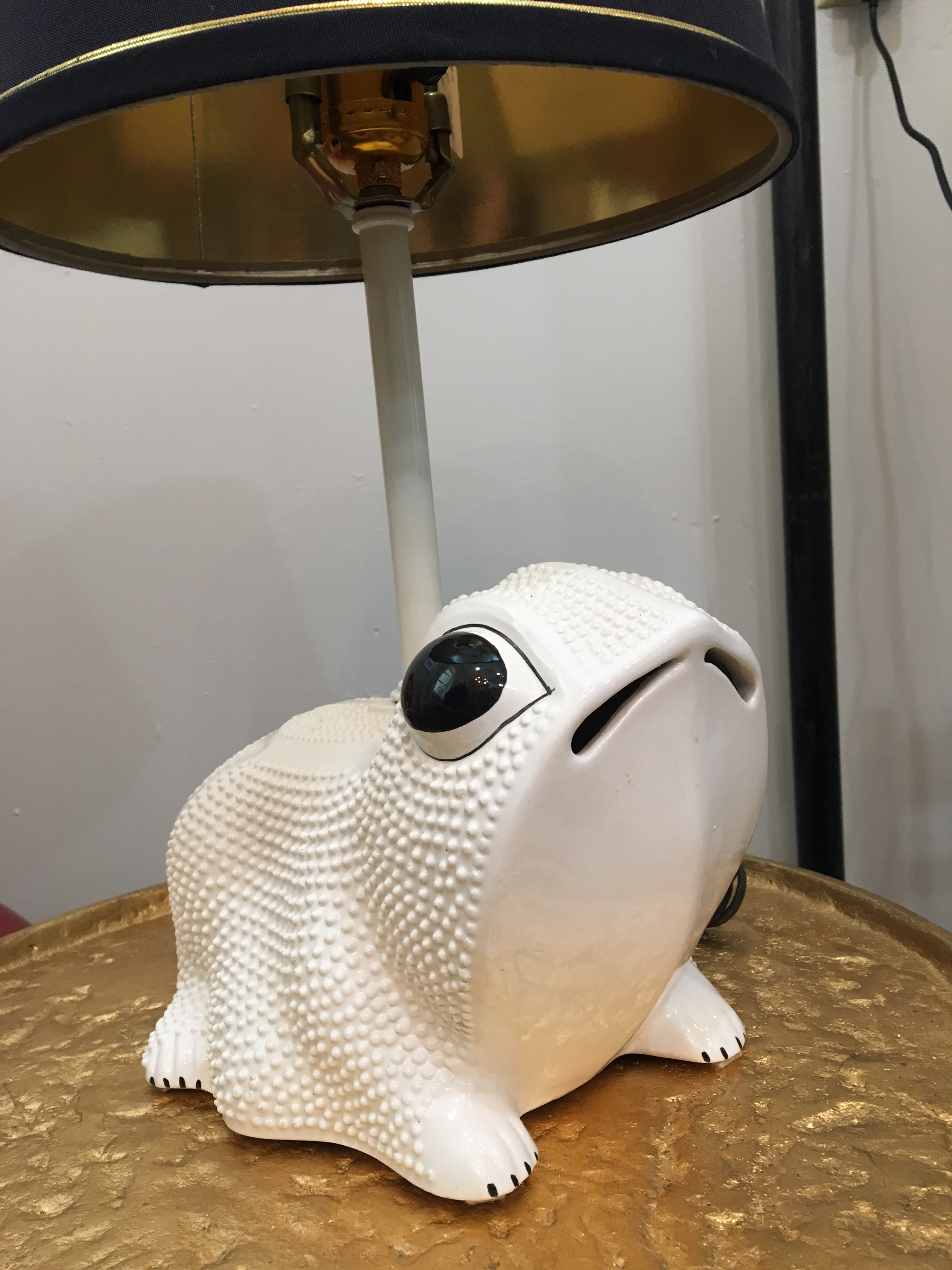 Circa 1960 Italian Frog Table Lamp For Sale   Image 4 Of 6