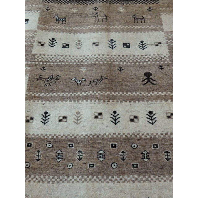 "Tribal Hand-Knotted Runner Rug - 2'9"" x 8'3"" For Sale - Image 3 of 12"