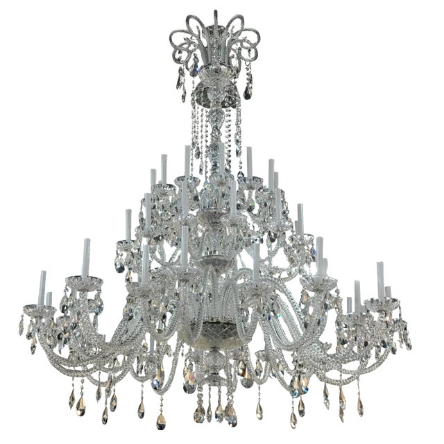 Strass Large Crystal Chandelier Chairish - Strass chandelier crystals