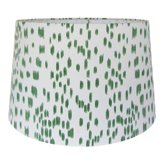 Green Animal Print Lamp Shade