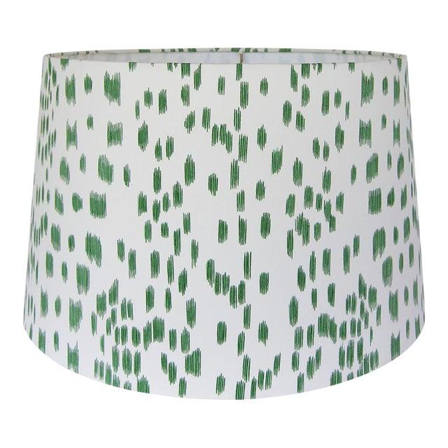 Green Animal Print Lamp Shade For Sale