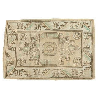 "Vintage Distressed Melas Rug - 2'5"" X 3'7"" For Sale"
