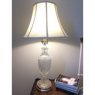 Mid-Century Crystal Table Lamp Preview