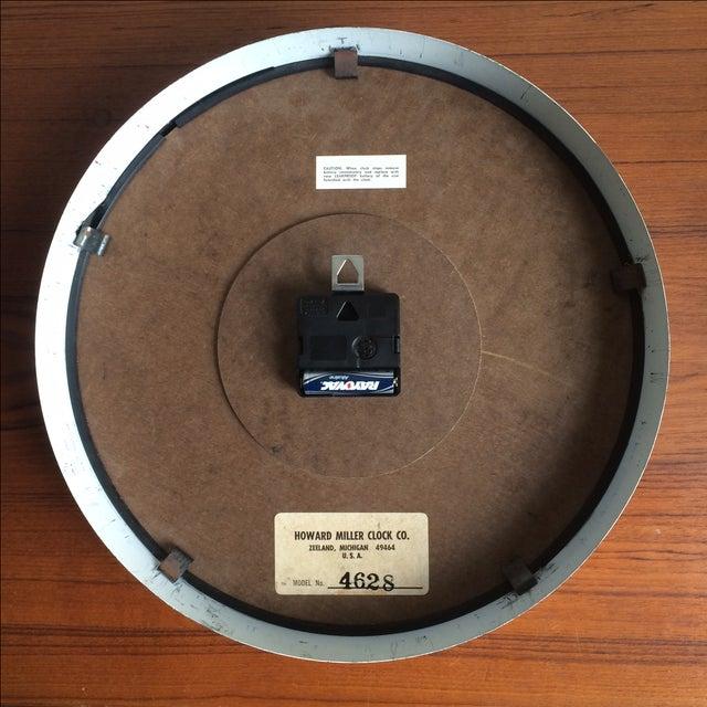 "Howard Miller ""Museum"" Clock For Sale - Image 6 of 6"