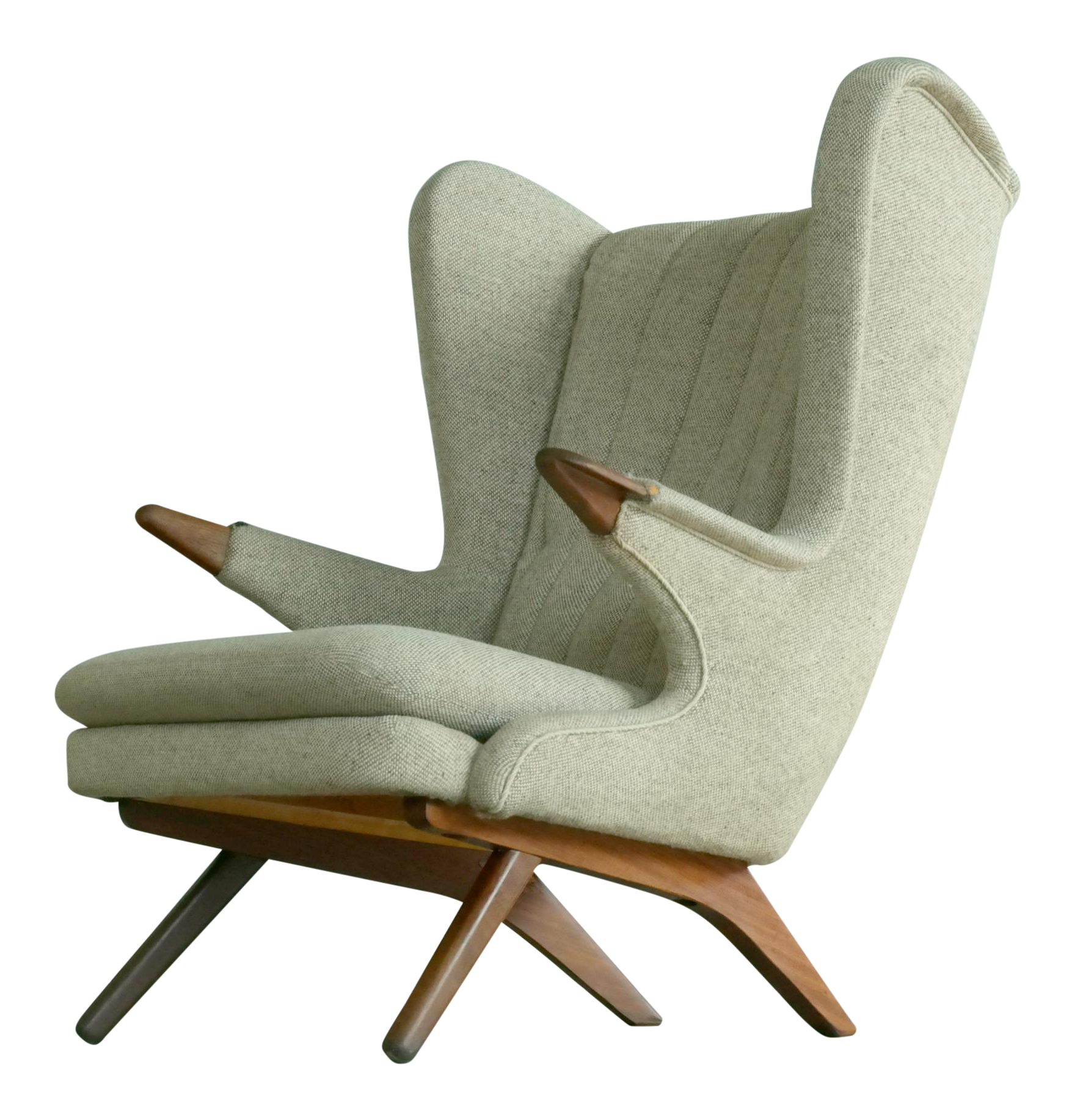 papa bear chair. Sven Skipper 1960s Papa Bear Chair Model 91 In The Style Of Hans Wegner O