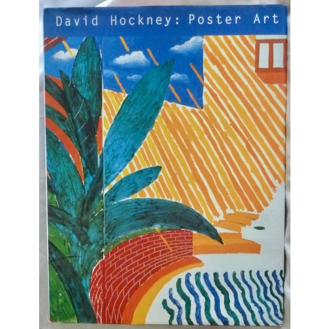 Blue David Hockney: Poster Art Book by Brian Baggot For Sale - Image 8 of 8