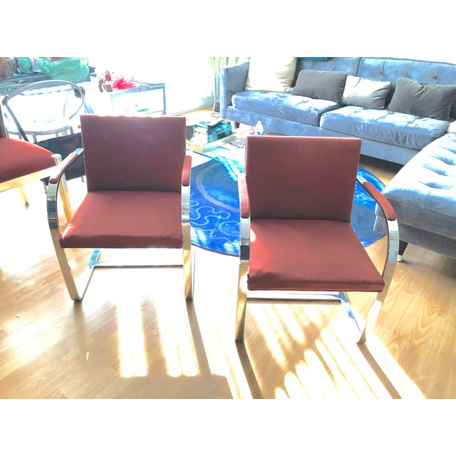 1970s Vintage Knoll Brno Flat Bar Chairs- A Pair For Sale - Image 13 of 13