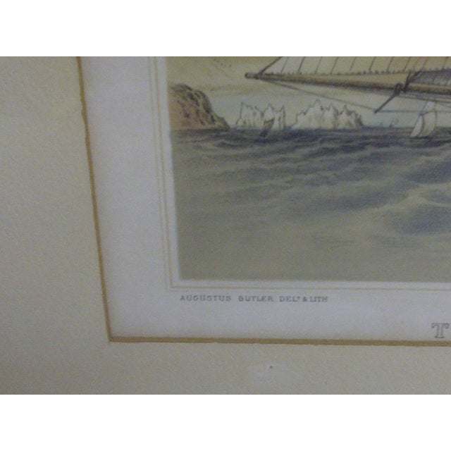 The American Schooner Print, 1850 For Sale In Pittsburgh - Image 6 of 8