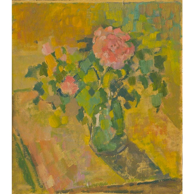 """Contemporary Amy Griffith Colley """"Pink Carnations"""" Print For Sale - Image 3 of 3"""
