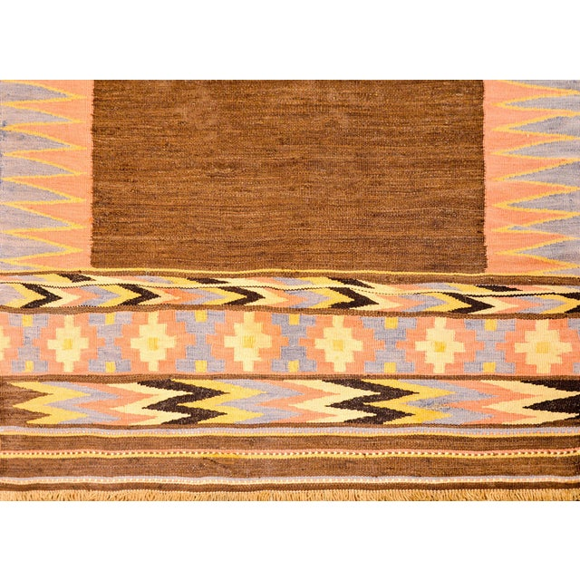 1940s Early 20th Century Shahsevan Kilim Rug For Sale - Image 5 of 9