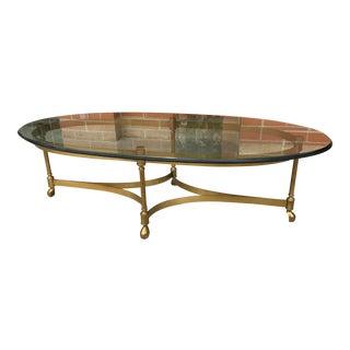 Vintage La Barge Hoof Coffee Table For Sale