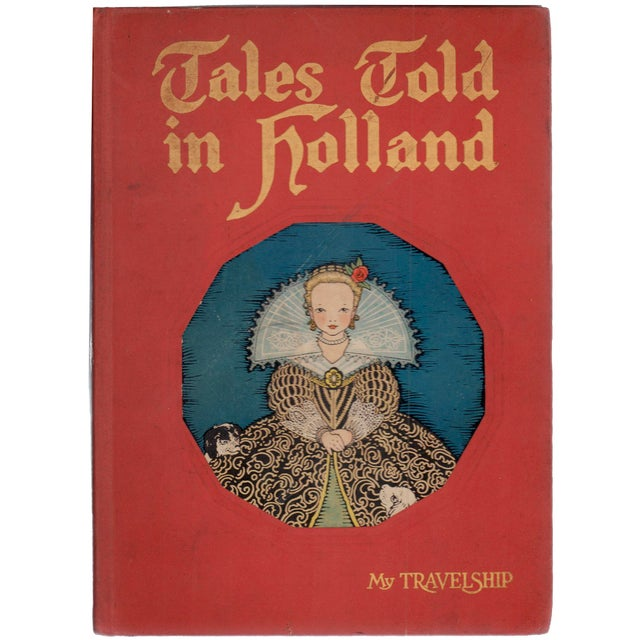 """1926 """"Tales Told in Holland"""" Coffee Table Book For Sale In Atlanta - Image 6 of 6"""