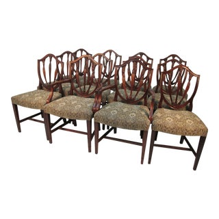 1940s Mahogany Dining Chairs - Set of 12 For Sale