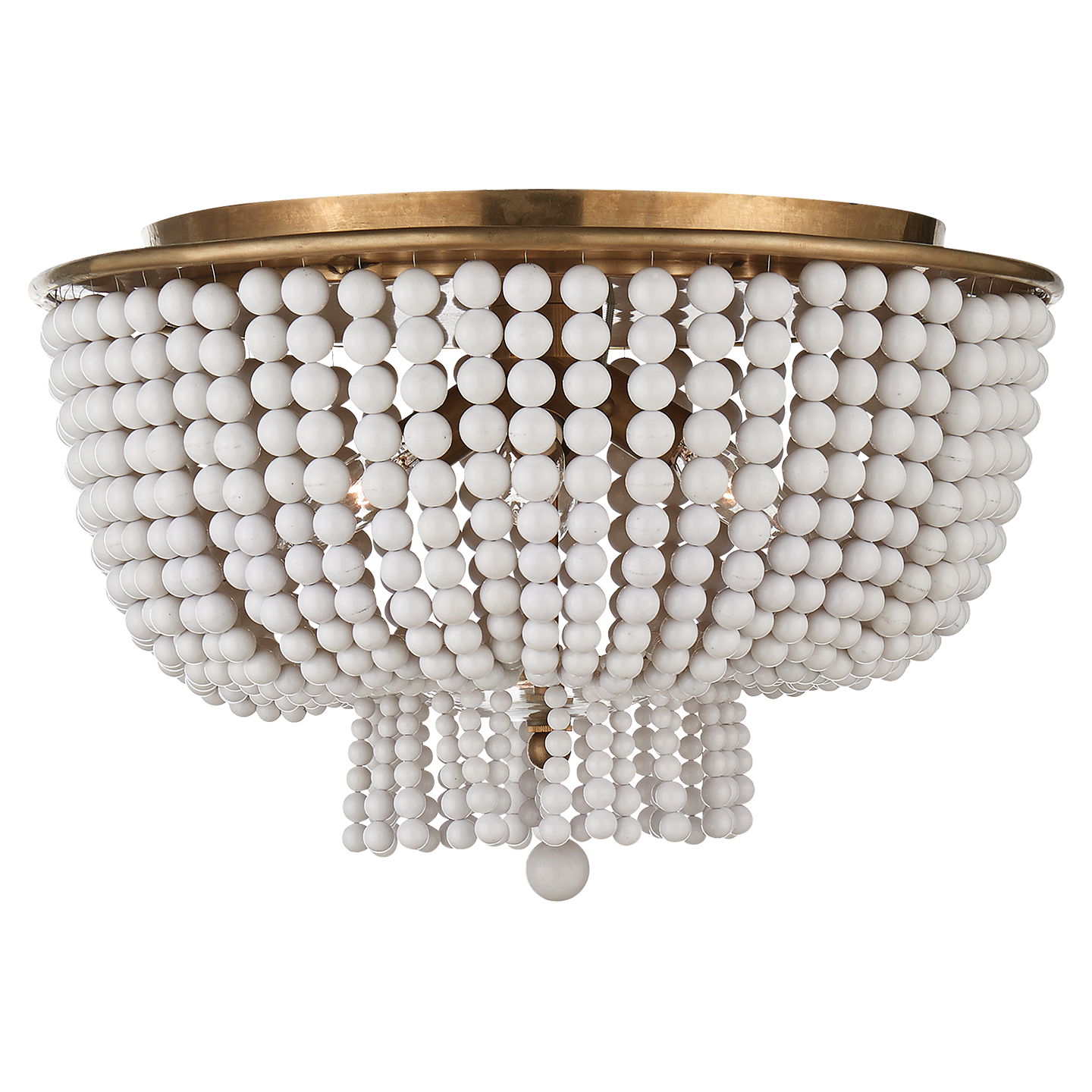 Jacqueline Beaded Flush Mount by Aerin for Visual Comfort Chairish