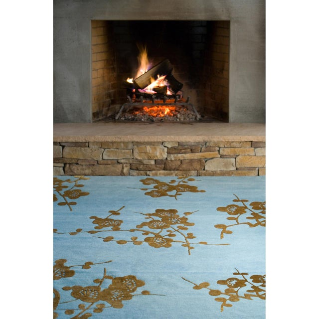 """Spray"" Rug by Emma Gardner - Image 4 of 6"