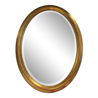 RenWil Beveled Oval Mirror For Sale