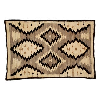 Antique Navajo Style Rug - 2′10″ × 4′6″ For Sale