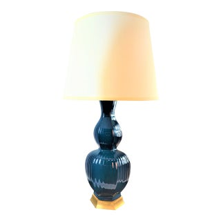 Bungalow 5 Delft Lamp in Blue For Sale