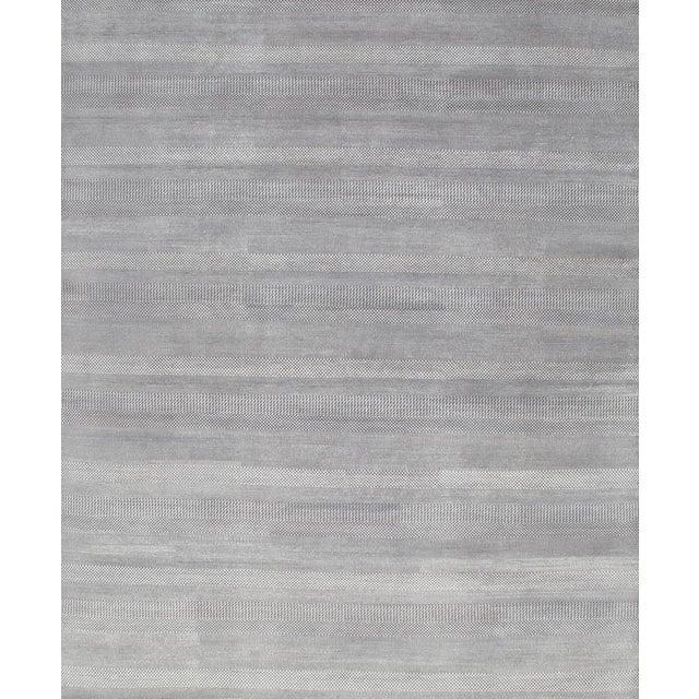 "Pasargad Transitional Silk & Wool Rug - 9'11"" X 14'2"" - Image 1 of 3"