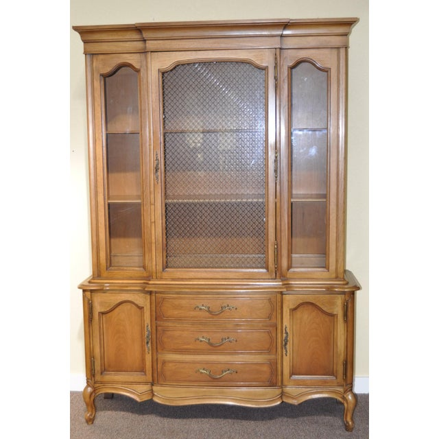 French Provincial Walnut Cabinet - Image 2 of 8