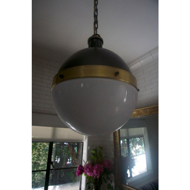 Contemporary Rejuvenation Globe Pendant Light For Sale - Image 3 of 6