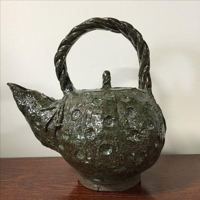 Handmade Clay Teapot - Image 4 of 7