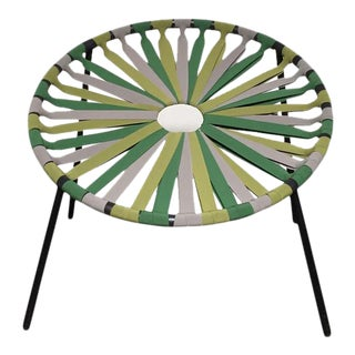 Modern Green Lastika Chair For Sale