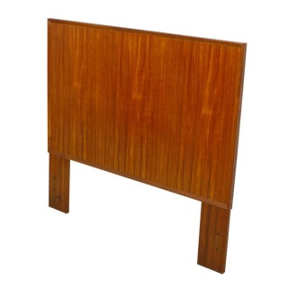 Danish Modern Twin Headboard in Teak For Sale
