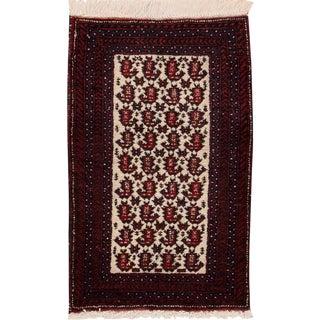 "Vintage Persian Hamadan Rug, 1'6"" x 2'6"""
