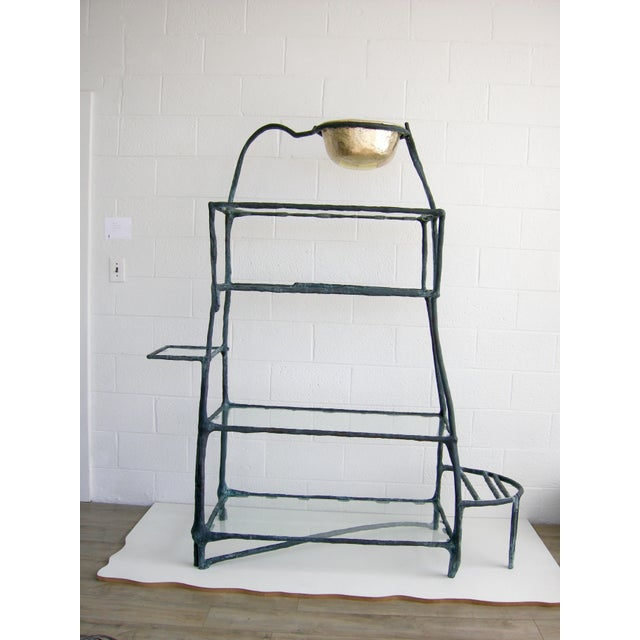 Gold Plant Library Etagere by Zuckerhosen For Sale - Image 8 of 8