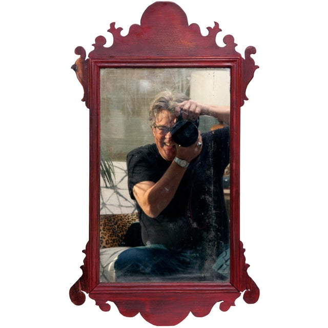Early 20th Century Vintage English Chippendale Mirror For Sale - Image 5 of 5