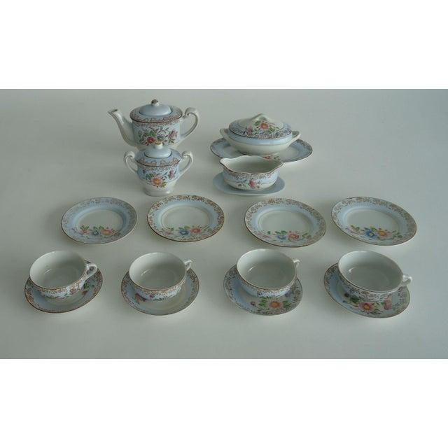Antique Porcelain Child's Tea Set - 21 Pieces - Image 2 of 6