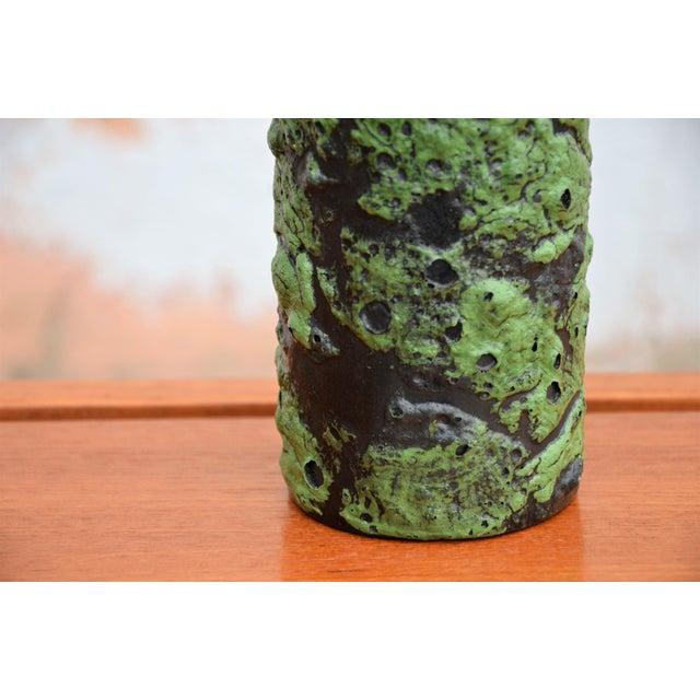 Vintage Mid-Century Fat Lava Glaze Vase For Sale In Richmond - Image 6 of 7