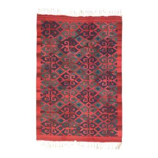 Vintage Persian Kilim Rug - 06'00 X 08'08 For Sale